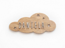 Placa personalizable nube